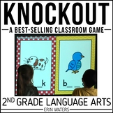 2nd Grade Language Arts Review Game   End of Year   Knockout   Distance Learning