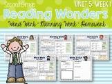 Second Grade Language Arts Morning Work Unit 5, Week 1