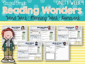 Second Grade Language Arts Morning Work / Homework Unit 1: Week 4