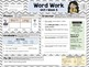 Second Grade Language Arts Morning Work / Homework Unit 1: Week 5