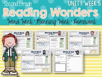 Second Grade Language Arts Morning Work Unit 1: Week 5