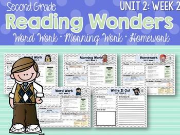 Second Grade Language Arts Morning Work Unit 2: Week 2