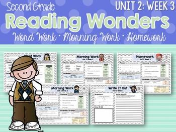Second Grade Language Arts Morning Work / Homework Unit 2: Week 3