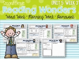 Second Grade Language Arts Morning Work Unit 5: Week 3