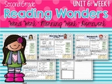 Second Grade Language Arts Morning Work Unit 6, Week 1
