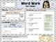 Second Grade Language Arts Morning Work / Homework Unit 1: Week 1