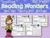 Second Grade Language Arts Morning Work Unit 3: Week 1