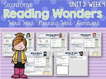 Second Grade Language Arts Morning Work Unit 3: Week 4