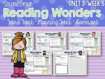 Second Grade Language Arts Morning Work Unit 3: Week 5