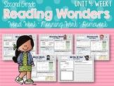Second Grade Language Arts Morning Work Unit 4, Week 1