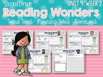 Second Grade Language Arts Morning Work Unit 4: Week 2