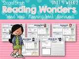 Second Grade Language Arts Morning Work Unit 4, Week 2