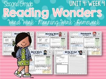 Second Grade Language Arts Morning Work Unit 4: Week 4