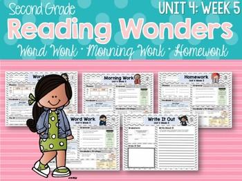 Second Grade Language Arts Morning Work Unit 4: Week 5