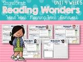 Second Grade Language Arts Morning Work Unit 4, Week 5