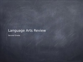 Second Grade Language Arts Review