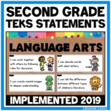 Second Grade Language Arts TEKS Can and Will Standards Statements