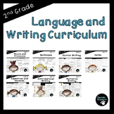 Second Grade Language and Writing Curriculum (CCSS Aligned, EDITABLE!)