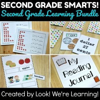 Second Grade Learning Bundle: Second Grade Smarts!