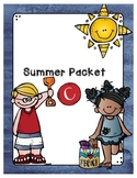 Second Grade Level Summer Packet C