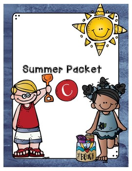 Second Grade Level Summer Packet C