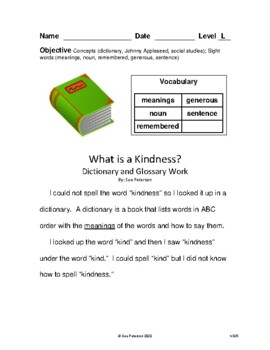 Second Grade Leveled Books:  Level L - Set 1