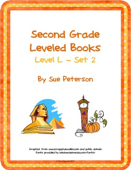 Second Grade Leveled Books:  Level L - Set 2