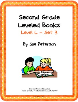 Second Grade Leveled Books: Level L - Set 3