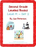 Second Grade Leveled Books:  Level M – Set 2