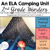 Literacy Camping Unit - Poetry, Reading, and Writing
