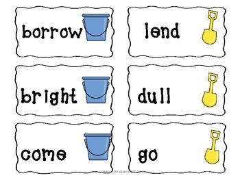 Second Grade Literacy Centers-Summer Themed