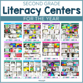 Second Grade Literacy Centers | Literacy Stations | Fall