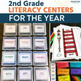 2nd Grade Literacy Centers | Literacy Stations | Literacy Center Ideas | Summer