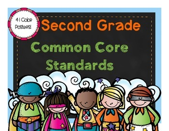 Second Grade Literacy Common Core Posters