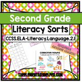 Second Grade Literacy Sorts