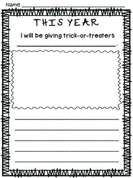 Second Grade Literacy Stations for October with BONUS October Calendar Pieces