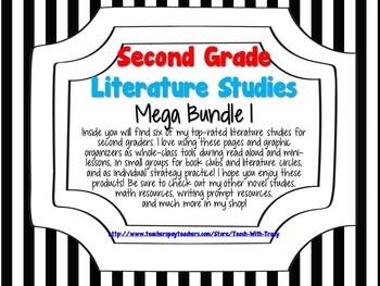 Second Grade Literature Studies Mega Bundle 1