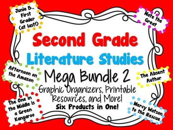 Second Grade Literature Studies Mega Bundle 2