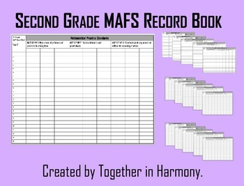 Second Grade MAFS Record Book