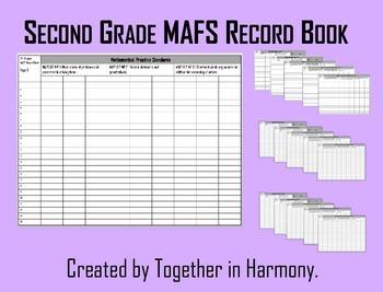 Second Grade MAFS Record Book