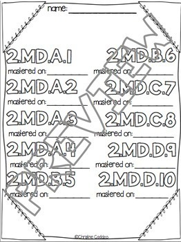 Math Assessments - Second Grade Measurement