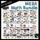 Second Grade Math Bundle (OVER 1400 Items!)