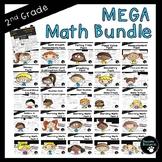 Second Grade Math Bundle (OVER 1400 Pages!)