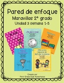 Second Grade- Maravillas - Unit 3 Focus Wall Bundle