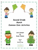 Second Grade March Activities