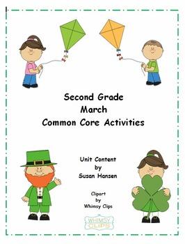 Second Grade March Activities