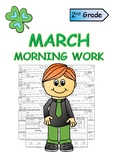 Second Grade March Morning Work