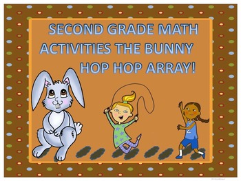 Math Arrays: Second Grade Word Problems