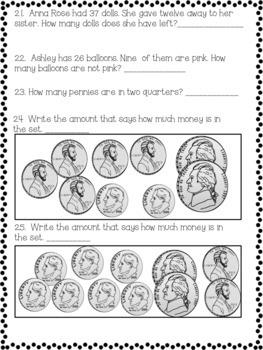 Second Grade Math Assessment