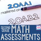 2nd Grade Math Assessments | Distance Learning | Common Core